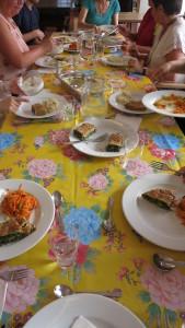 Een maaltijd in 't Hert in juni 2015