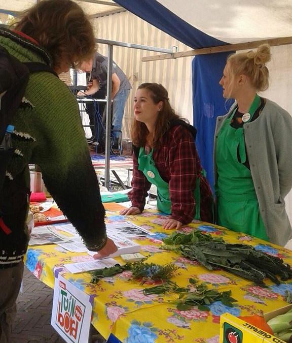VTTB op de markt bij het Fair Food Festival
