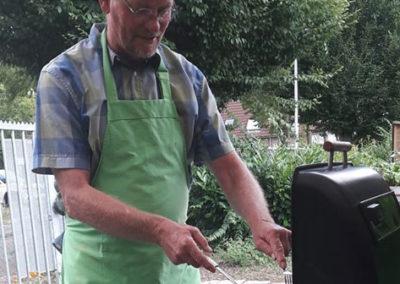 Grillmaster Martin bakt ze bruin!