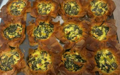 Heerlijke spinazie cupcakes bij VTTB Junior