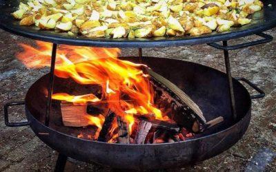 Barbecue! in de tuin van De Broederij 
