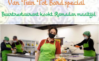 Buurtrestaurant kookt Ramadan maaltijd