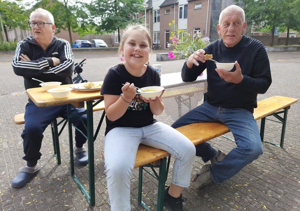 Vandaag streken we neer op het Potgieterplein in het Willemskwartier Nijmegen