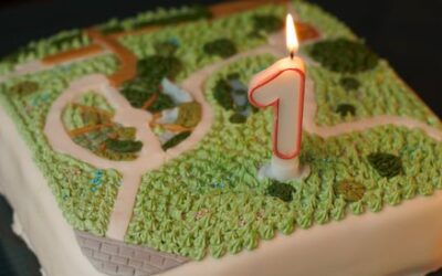 Viering van de 1e verjaardag van Stadstuin De Groene Schakel in Grootstal